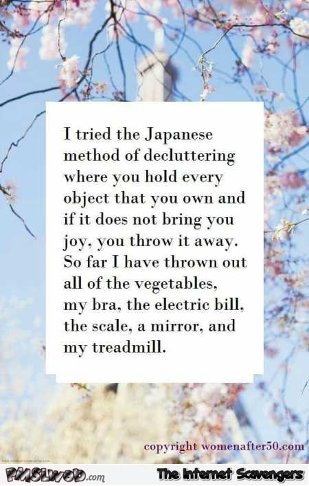 5-I-tried-the-Japanese-method-of-decluttering-funny-quote