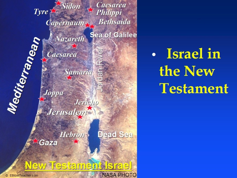 Israel in the New Test 1024