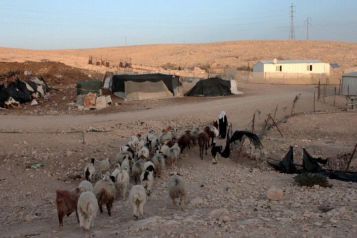 A Bedouin settlement in the Negev